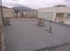 Газопламъчна хидроизолация на покрив в град Перник