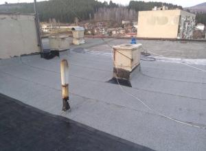 Газопламъчна хидроизолация на покрив в град Перник 2
