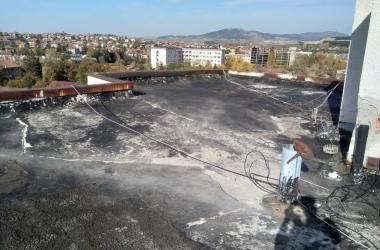 Газопламъчна хидроизолация на покрив 10