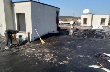 Газопламъчна хидроизолация на покрив 12