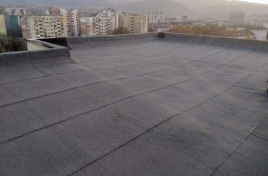 Газопламъчна хидроизолация на покрив 2
