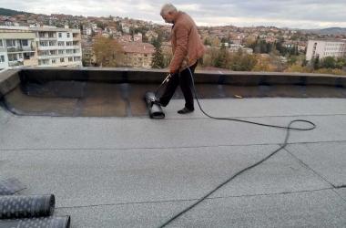 Газопламъчна хидроизолация на покрив 3
