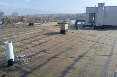Газопламъчна хидроизолация на покрив 4