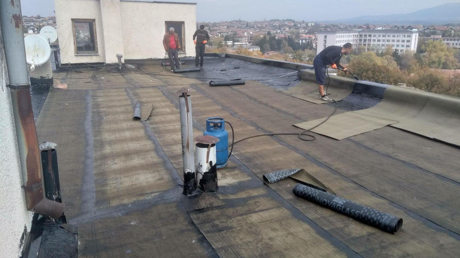 За хидроизолацията на покрива