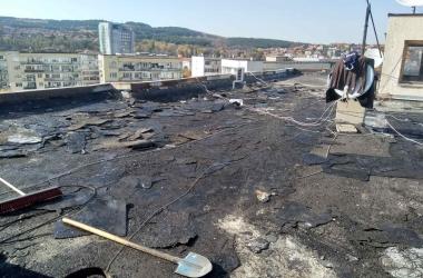 Газопламъчна хидроизолация на покрив 6