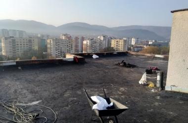 Газопламъчна хидроизолация на покрив 7