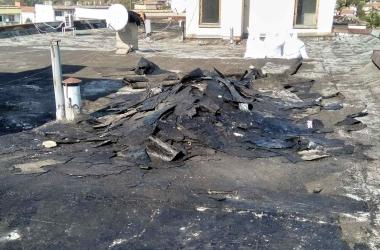 Газопламъчна хидроизолация на покрив 9
