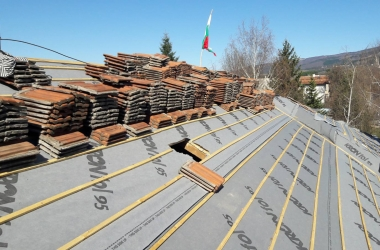 Реставриране на Покрив в Драгичево 2