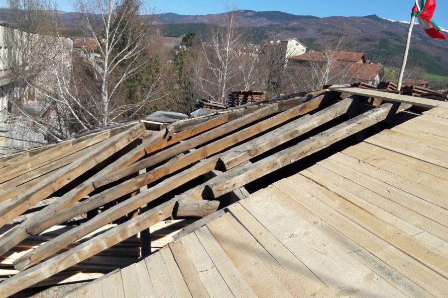 Реставриране на Покрив в Драгичево 4