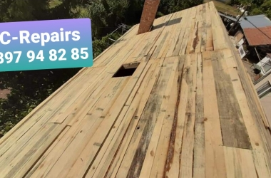 Изграждане на нов покрив в село Стефаново 11
