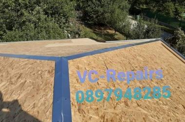 Изграждане на нов покрив в Правец 12