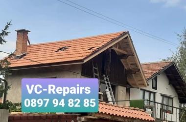 Изграждане на нов покрив в село Стефаново 2