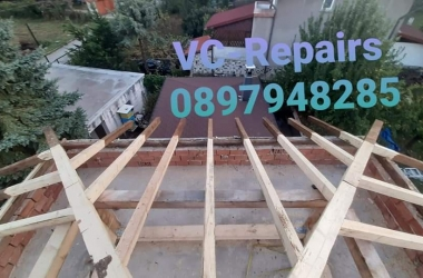 Изграждане на нов покрив в Правец 20