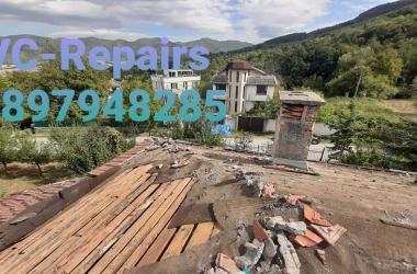 Изграждане на нов покрив в Правец 28