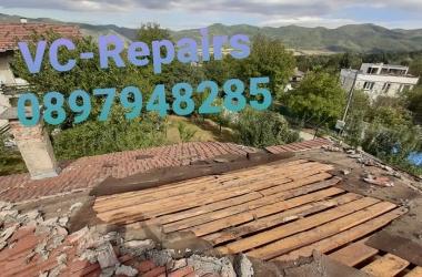 Изграждане на нов покрив в Правец 29