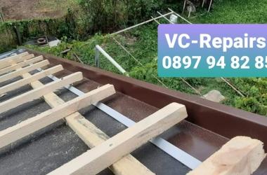 Изграждане на нов покрив в село Стефаново 4