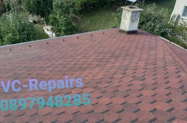 Изграждане на нов покрив в Правец 4