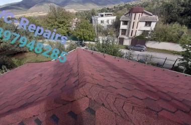 Изграждане на нов покрив в Правец 5