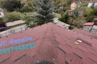Изграждане на нов покрив в Правец 6