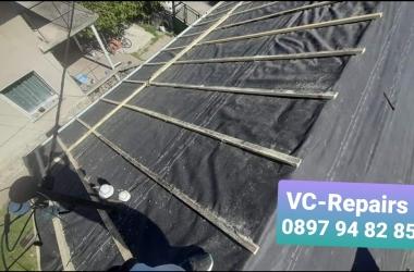 Изграждане на нов покрив в село Стефаново 9